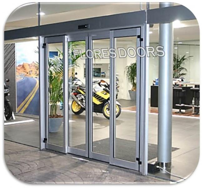 Puertas de vidrio - Puerta de aluminio con cristal ...